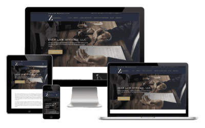 Lawyer Web Design – Zeck Law